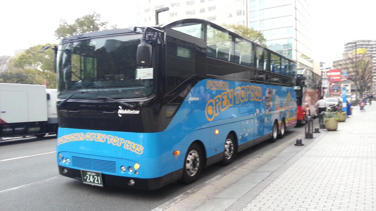福岡オープントップバス2