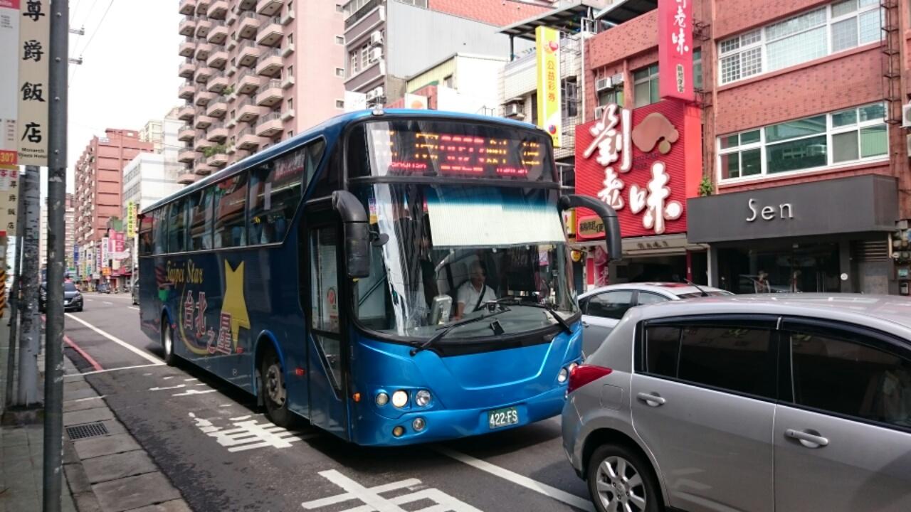 台湾のバス5