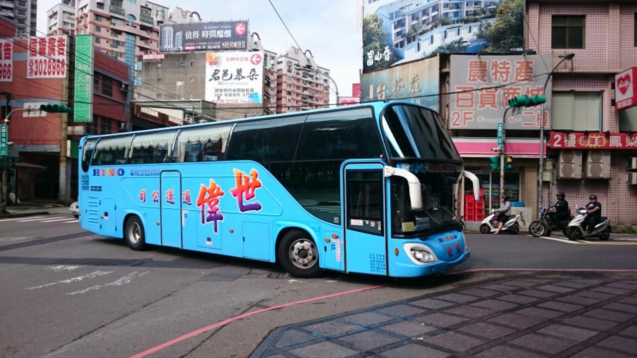 台湾のバス6