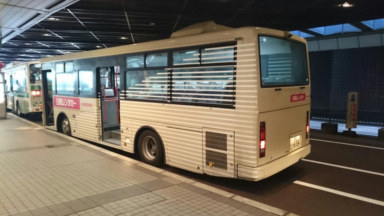 レンタカー送迎バス2