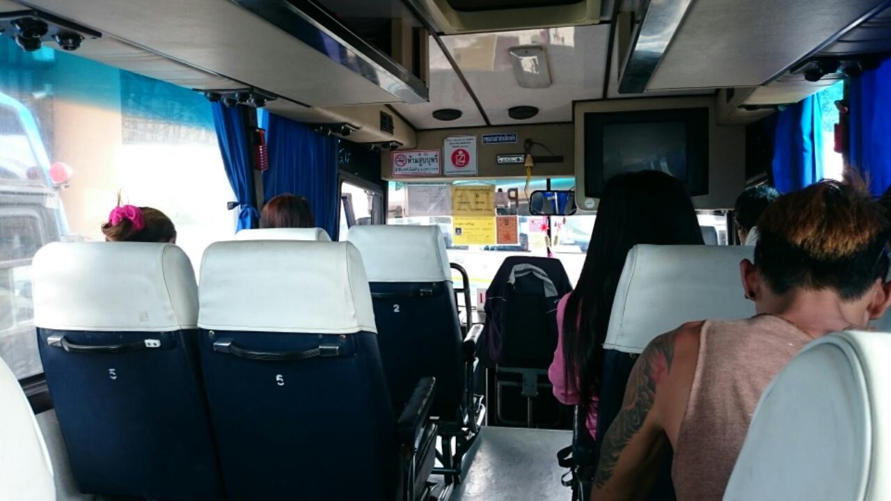 タイの高速バス