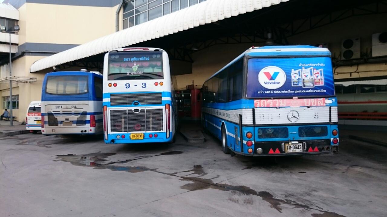 タイの高速バスターミナル2