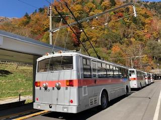 関電トンネルトロリーバス